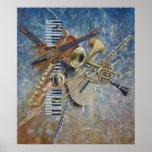 Abstract Melody print