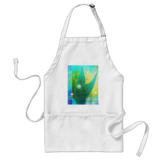 Abstract Mermaid Tail 3 Adult Apron