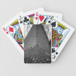 Abstract metal bicycle playing cards