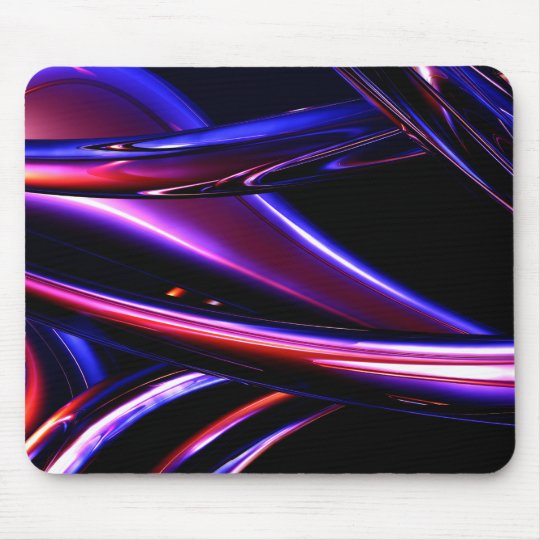 Abstract metal mouse pad