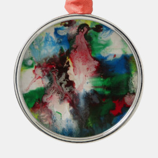 Abstract Metal Ornament