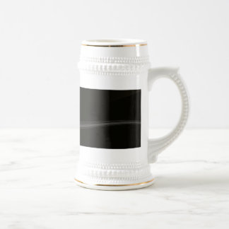Abstract Metal Pattern Background Beer Stein