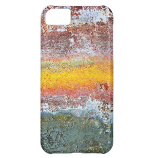 Abstract Metal Rusty Antique Junk Style Fashion Ar Case For iPhone 5C