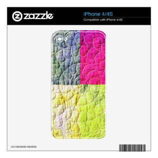 Abstract Metal Sheet rainbow Rusty Antique Junk St iPhone 4 Decals