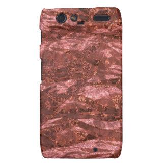 Abstract Metalic Rose Foil case-mate case Droid RAZR Cases