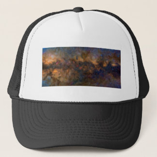 Abstract Milkyway Galaxy with cosmic cloud 3 Trucker Hat