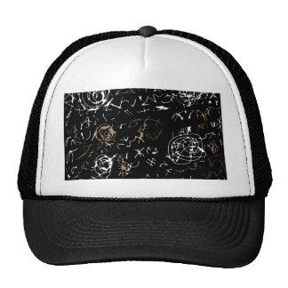 Abstract mind - brown trucker hat