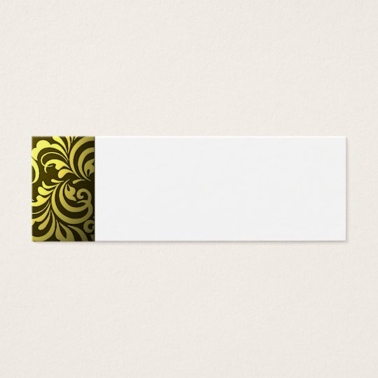 Abstract Mini Business Card