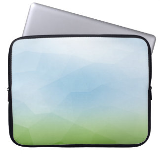 Abstract Misty Hills and Mountains Laptop Sleeve