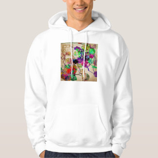 Abstract Mixed Media Pullover