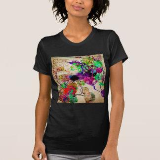 Abstract Mixed Media Shirt