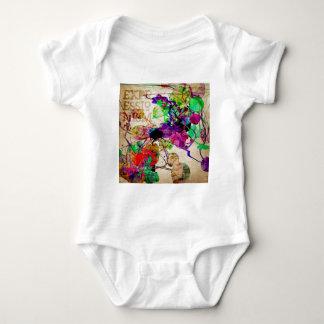 Abstract Mixed Media T Shirt