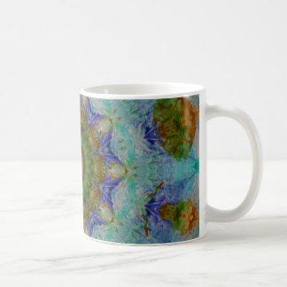 Abstract Mixed Media two Coffee Mug