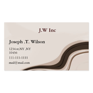 abstract mocha Business Cards