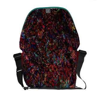 Abstract Modern Art Digital Floral Painting Commuter Bags