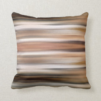 Abstract Modern Brown stripes Pillow