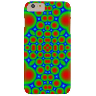 Abstract modern circle pattern barely there iPhone 6 plus case