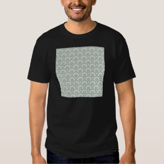Abstract Modern Concentric Circles Texture Shirt