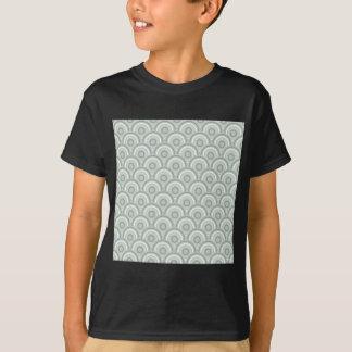 Abstract Modern Concentric Circles Texture T-Shirt