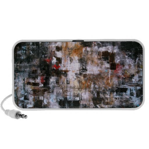ABSTRACT MODERN EXPRESSIONISM PAINTING ART iPhone SPEAKER