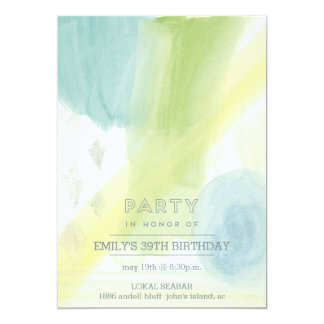 Abstract Modern Party Invitation