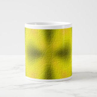 Abstract modern pattern 20 oz large ceramic coffee mug