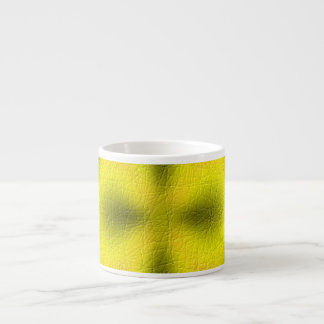 Abstract modern pattern 6 oz ceramic espresso cup