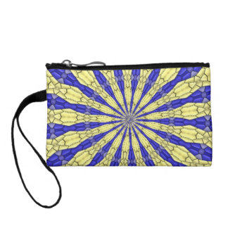 Abstract modern pattern change purse