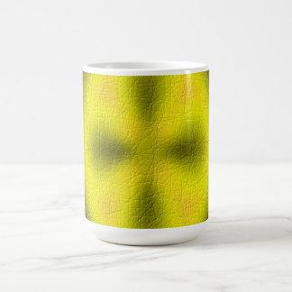 Abstract modern pattern classic white coffee mug