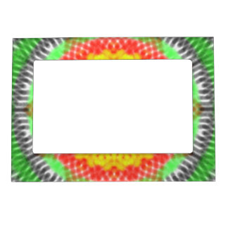 Abstract modern pattern magnetic photo frames