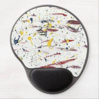 Abstract-Modern-Pop-Deco Paint Art2 Mousepad Gel Mouse Pad