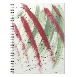 Abstract-Modern-Pop-Deco Paint Art2 Notebook