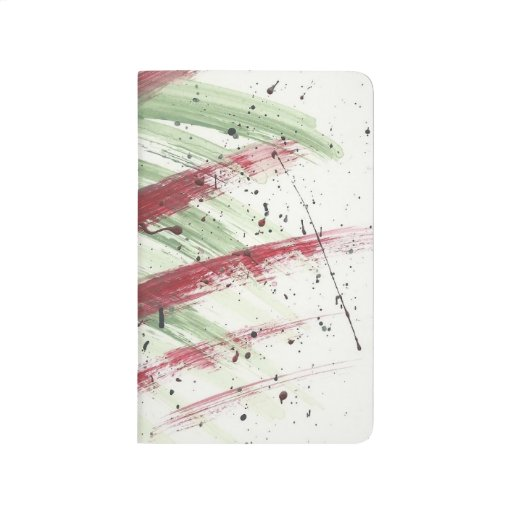 Abstract modern pop deco paint art2 pocketnotebook journal for Pop deco