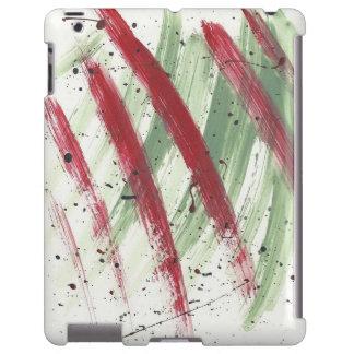 Abstract-Modern-Pop-Deco Paint Art iPad case
