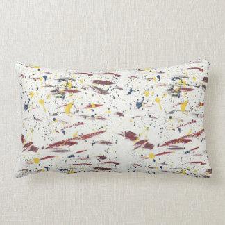 Abstract-Modern-Pop-Deco Paint Art Lumbar Pillow