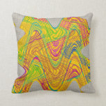Abstract Modern Yellow Pillows