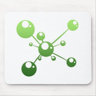 abstract molecule mousepads