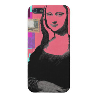 Abstract Mona Lisa iPhone SE/5/5s Case