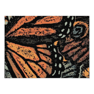 Abstract Monarch Butterfly Card