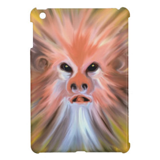 Abstract monkey painting iPad mini cover
