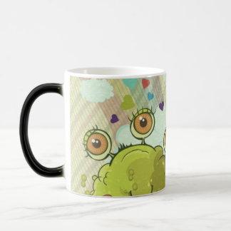 Abstract Monster and Rainbow Magic Mug