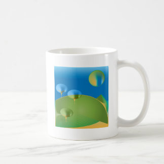 Abstract Moon surprise Coffee Mug