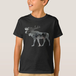 Abstract Moose silhouette T-Shirt