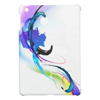 Abstract Morning Glory Paint Splatters iPad Mini Cases