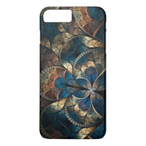 Abstract Mosaic Blues iPhone 7 Pluss iPhone 7 Plus Case