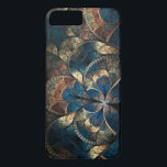 """Abstract Mosaic Blues iPhone 7 Pluss iPhone 8 Plus/7 Plus Case<br><div class=""""desc"""">Abstract Mosaic Blues</div>"""