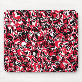 Abstract Mosaic Mouse Pad