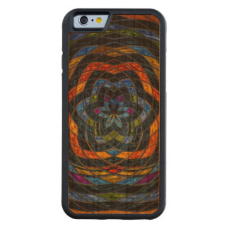 Abstract Mosaic Pattern #10 Carved Cherry iPhone 6 Bumper Case
