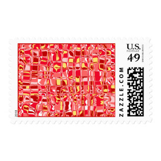 Abstract Mosaic Postage