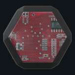 """Abstract motherboard black bluetooth speaker<br><div class=""""desc"""">Seamless abstract motherboard or any circuit board pattern &#169; and &#174; Bigstock&#174; - All Rights Reserved.</div>"""